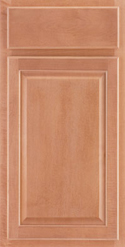 Cabinets with Andover Spice Finishes