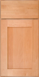 Cabinets with Coronet Chestnut Finishes