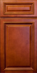 Cabinets with Lenox Mocha Finishes